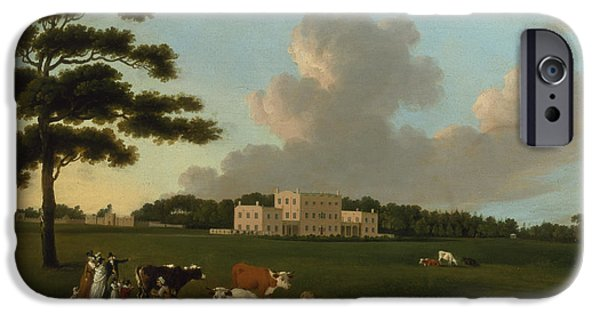 Stately iPhone Cases - Bulwell Hall, Nottingham iPhone Case by Edward Dayes