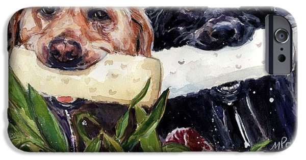 Water Retrieve iPhone Cases - Bumper Bumper iPhone Case by Molly Poole