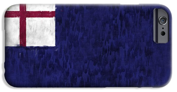 American Revolution Digital Art iPhone Cases - Bunker Hill Flag iPhone Case by World Art Prints And Designs