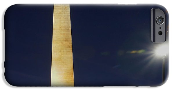 Prescott iPhone Cases - Bunker Hill Monument 02 iPhone Case by Jeff Stallard