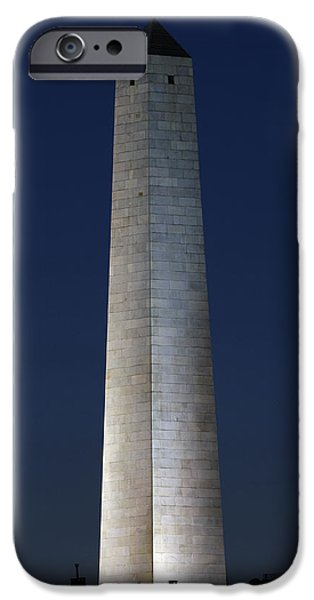 Boston Ma iPhone Cases - Bunker Hill Monument iPhone Case by Juergen Roth