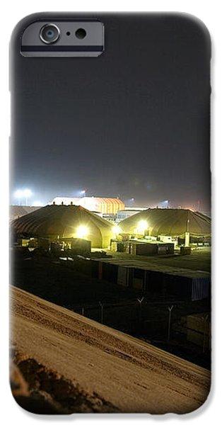 Bunker over Iraq iPhone Case by Darin Pemberton