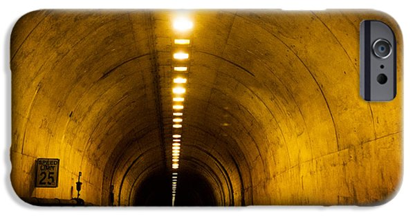 Recently Sold -  - Sausalito iPhone Cases - Bunker Road Tunnel iPhone Case by SFPhotoStore