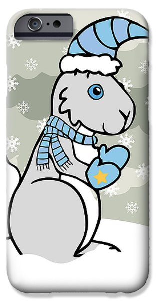 Bunny Winter iPhone Case by Christy Beckwith