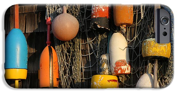 Shed iPhone Cases - Buoys iPhone Case by Juergen Roth