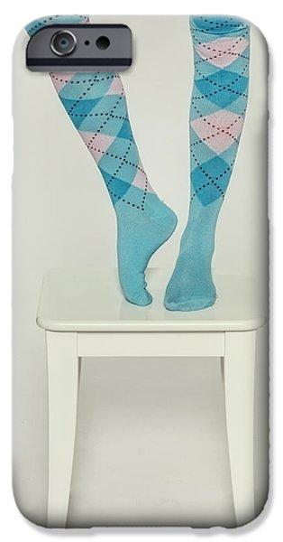 Socks iPhone Cases - Burlington Socks iPhone Case by Joana Kruse