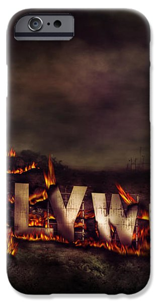 Burn this city iPhone Case by Anthony Citro