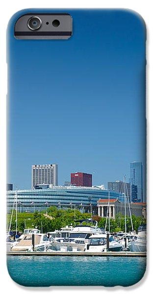 Burnham Harbor and the Chicago Skyline iPhone Case by Kristopher Kettner