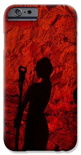 Burnin' Down The House iPhone Case by KENAN SIPILOVIC