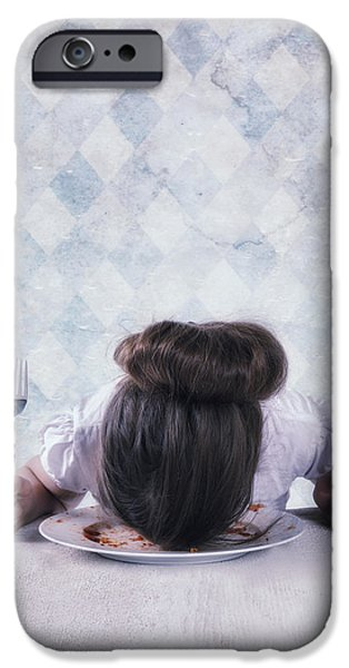 burnout iPhone Case by Joana Kruse