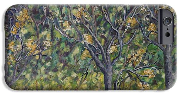 Carolinestreetart iPhone Cases - Bushveld iPhone Case by Caroline Street