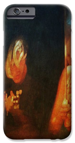 Youthful iPhone Cases - Busking iPhone Case by Suzy Norris