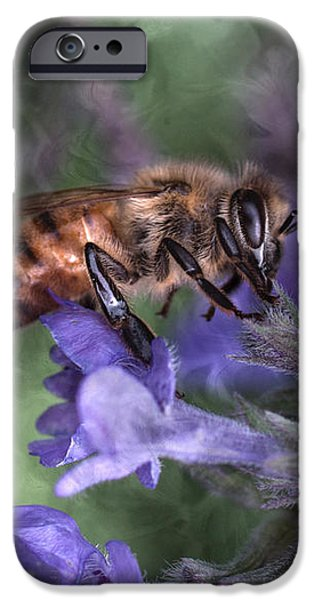 Busy As A Bee iPhone Case by Jeff Swanson
