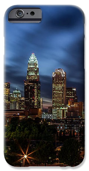 Busy Charlotte Night iPhone Case by Chris Austin