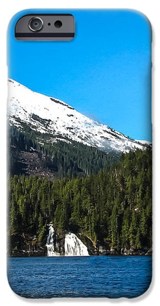 Butedale Falls iPhone Case by Robert Bales