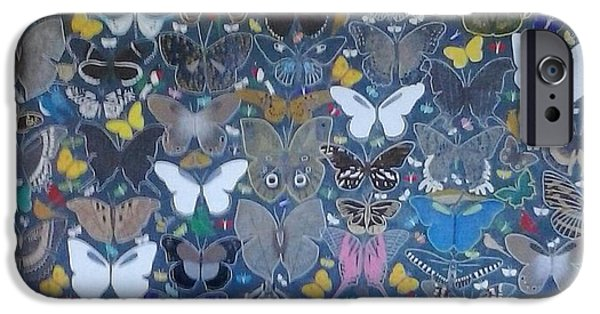Steven Taylor iPhone Cases - Butterflies iPhone Case by Steven Taylor