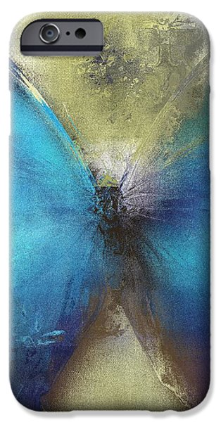 Butterfly Art - ab0101a iPhone Case by Variance Collections