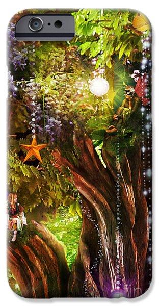 Butterfly Ball Tree iPhone Case by Aimee Stewart
