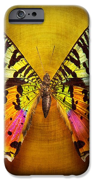 Butterfly - Butterfly of happiness  iPhone Case by Mike Savad