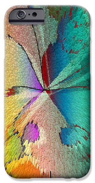 Butterfly iPhone Case by Iris Gelbart