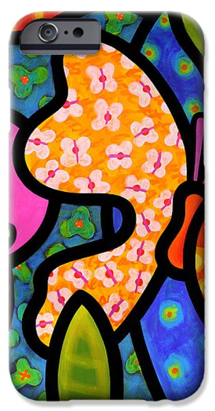Butterfly iPhone Cases - Butterfly Jungle iPhone Case by Steven Scott