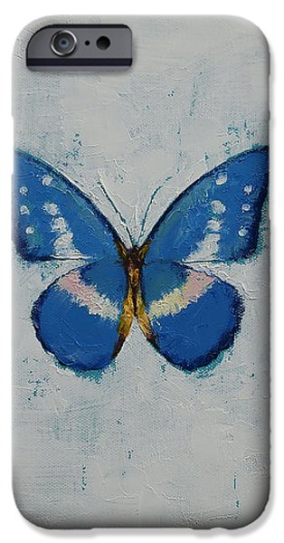 Butterfly iPhone Case by Michael Creese