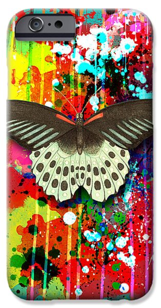 Butterfly Montage iPhone Case by Gary Grayson