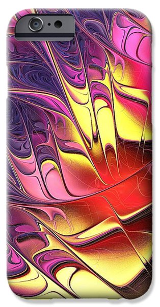 Modern iPhone Cases - Butterfly Wing iPhone Case by Anastasiya Malakhova