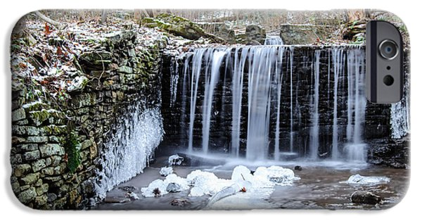 Buttermilk Falls iPhone Cases - Buttermilk Falls 2 iPhone Case by Anthony Thomas