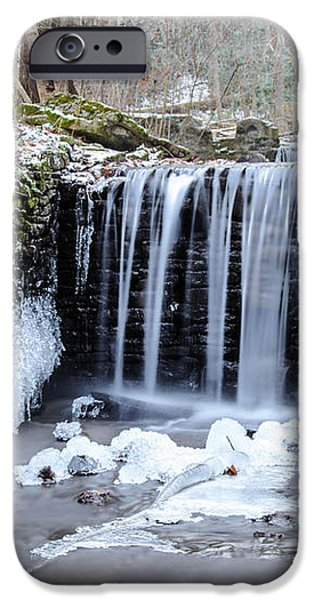 Buttermilk Falls 2 iPhone Case by Anthony Thomas