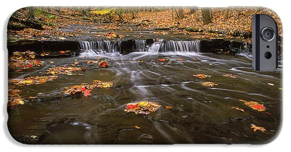 Buttermilk Falls iPhone Cases - Buttermilk Falls iPhone Case by Dale Kincaid