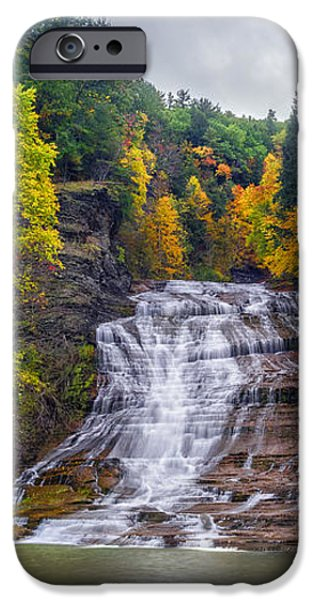 Buttermilk Falls iPhone Case by Mark Papke