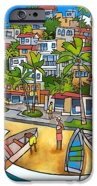 Brasil iPhone Cases - Buzios iPhone Case by Douglas Simonson