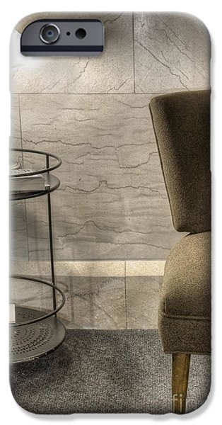 Interior Still Life iPhone Cases - By Lamplight iPhone Case by Margie Hurwich