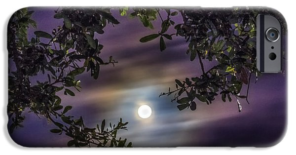 Eerie iPhone Cases - By The Moonlight iPhone Case by Rob Sellers