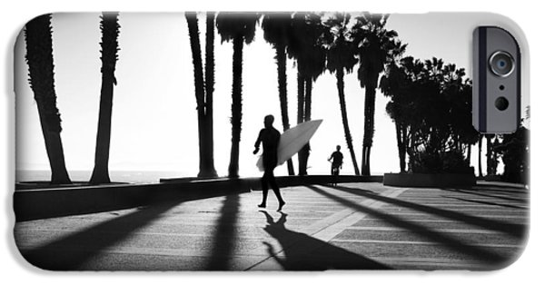 Ventura California iPhone Cases - C Street Shadowland iPhone Case by Sean Davey