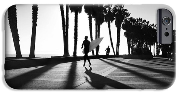 Ventura California iPhone Cases - C Street Shadowland iPhone Case by Sean Davey
