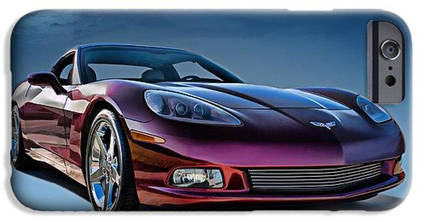 Horsepower iPhone Cases - C6 Corvette iPhone Case by Douglas Pittman
