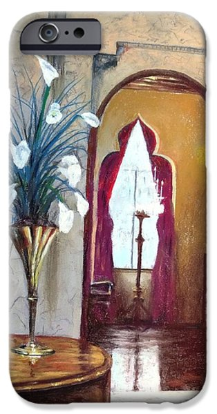 Piano Pastels iPhone Cases - Ca d Zan iPhone Case by Vincent Mancuso
