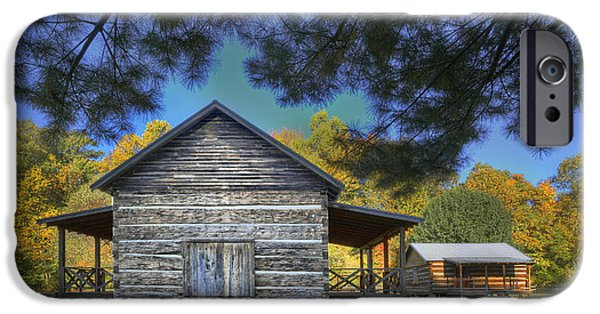 Daviess County Photographs iPhone Cases - Cabin at Yellow Creek iPhone Case by Wendell Thompson