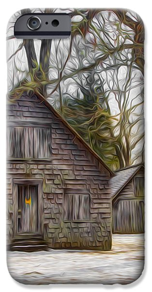 Cabin Dream iPhone Case by Debra and Dave Vanderlaan