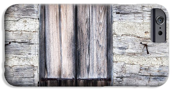 Cabin Window iPhone Cases - Cabin Fever iPhone Case by Dale Kincaid