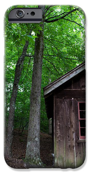 Cabin Window iPhone Cases - Cabin iPhone Case by Shelby  Young