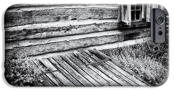 Cabin Window iPhone Cases - Cabin shutters iPhone Case by Paul W Faust -  Impressions of Light