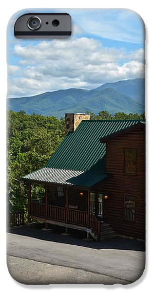 Cabins in the Smokies iPhone Case by Frozen in Time Fine Art Photography
