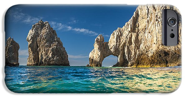 Picturesque iPhone Cases - Cabo San Lucas iPhone Case by Sebastian Musial