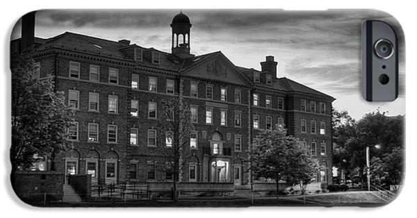 Cabot iPhone Cases - Cabot House Harvard iPhone Case by Nomad Art And  Design
