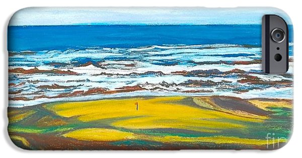 Sand Dunes Pastels iPhone Cases - Cabot Links # 14 iPhone Case by Frank Giordano