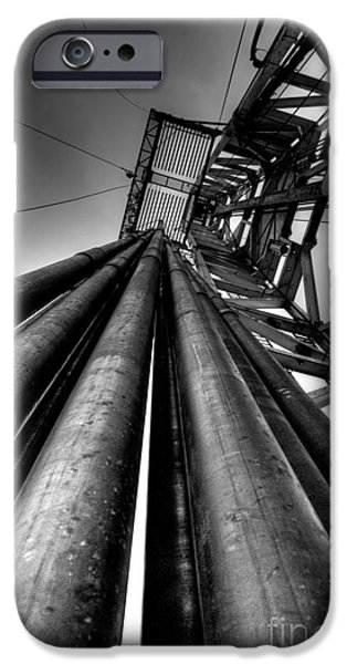 Industry iPhone Cases - Cac001bw-14 iPhone Case by Cooper Ross