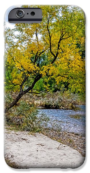 Cache La Poudre iPhone Case by Baywest Imaging